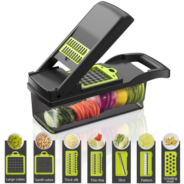 Vegetable Cutter Kitchen Accessories Manual Food Processors Manual Slicer Fruit Cutter Potato Peeler Carrot Cheese Grater