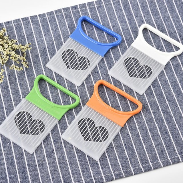 Stainless Steel Onion Cutter Onion Fork Fruit Vegetables Cutter Slicer Tomato Cutter Knife Cutting Safe Aid Holder Kitchen Tools