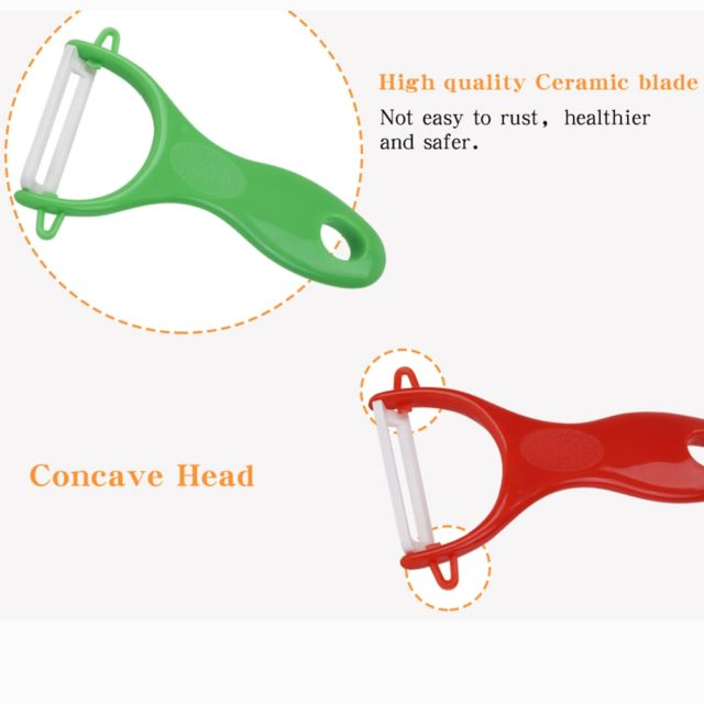 Vegetable Fruit Potato Peeler Cutter Household Ceramic Gadget Peeling Portable Home Kitchen Tools Accessories