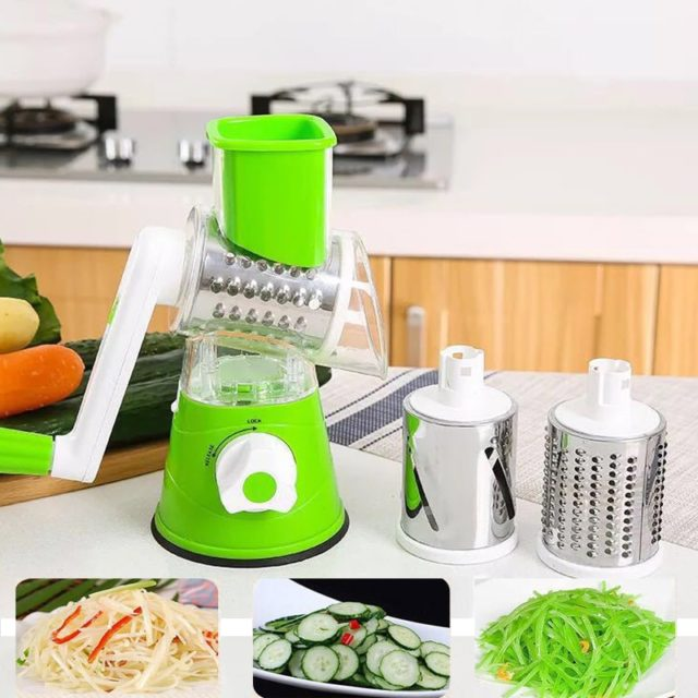 Vegetable Cutter Slicer Cutter Kitchen Tool Manual Multifunctional Round Mandoline Potato Cheese Kitchen Gadgets Accessories