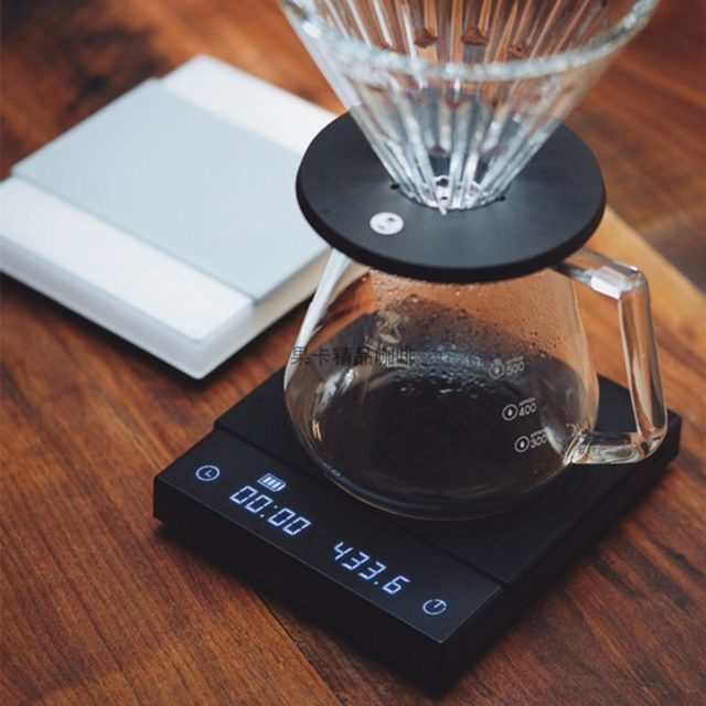 Timemore BLACK BASIC coffee scale  smart digital scale pour coffee Electronic Drip Coffee Scale with Timer2kg
