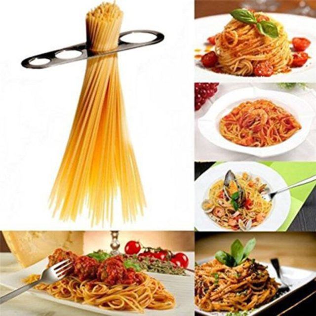 1Pcs Premium Stainless Steel Spaghetti Measurer Pasta Noodle Measure Easy Use Noodle Measurer Kitchen Accessories