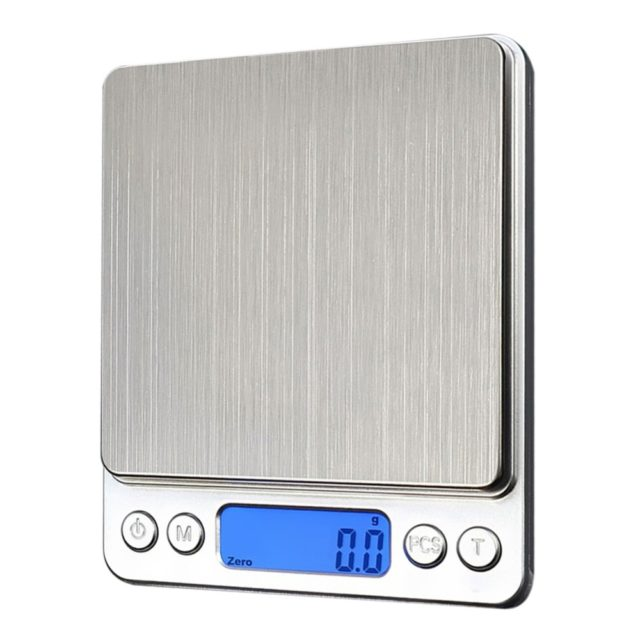 Kitchen Electronic Scale Digital 1000/0.1g Portable Food Scales High Precision Measuring Tools LCD Precision Flour Scale Weight