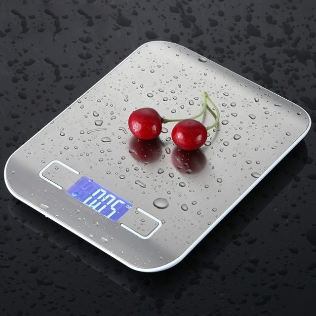 5KG /10 KG Household LCD Digital Kitchen Scale Electronic Food Scales Diet Scales Measuring Slim LCD Digital Electronic Scale