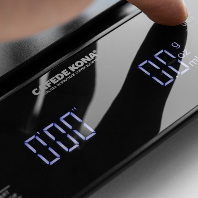 household electric scale Portable 3kg/0.1g  Drip Coffee Scale With Timer Electronic Digital Kitchen Scale High Precision LED