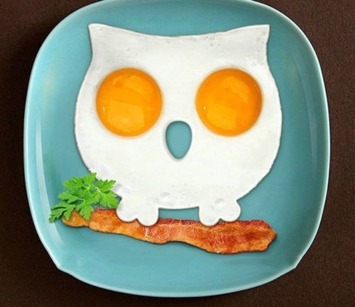 Hot Breakfast Fried Egg Mold Silicone Pancake Egg Ring Shaper Funny Cooking Tool