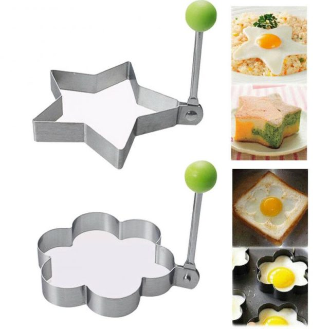 Stainless Steel Egg Cooker Fried Egg Pancake Mold Mould Frying Egg Cooking Kitchen Tools Kitchen Gadget Kitchen Accessories