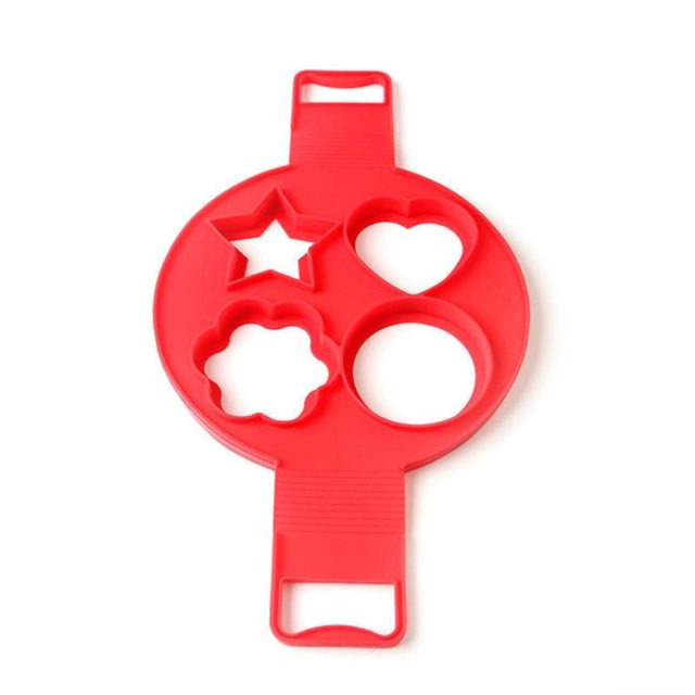 LINSBAYWU Non-stick Silicone Pancake Maker Cake Molds Egg Fried Tools Egg Rings Mould Pastry Mat Baking Accessories