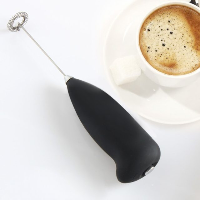 Brand New Kitchen Electric Hand Whisk Mixer Coffee Milk Egg Beater Stainless Steel Electric Hand Mixer L*5