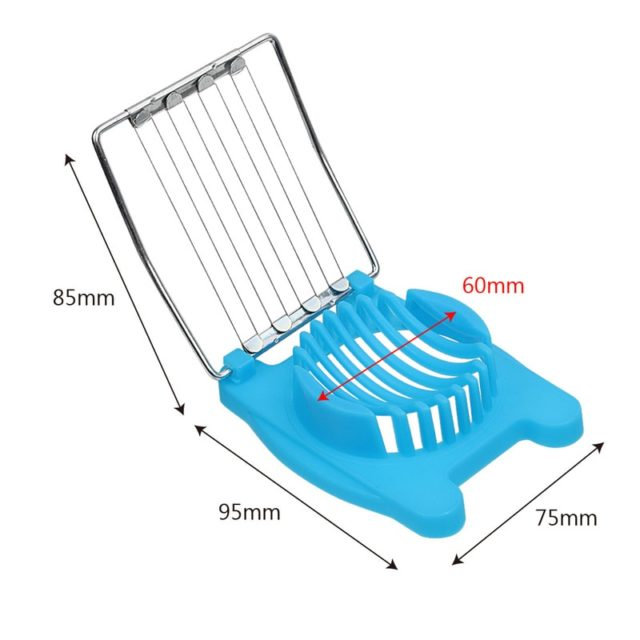 Multifunction High Quality Kitchen Cut Egg Slicer Sectioner Cutter Mold Flower Edges New Egg Shaper Kitchen Accessories 3 Colors