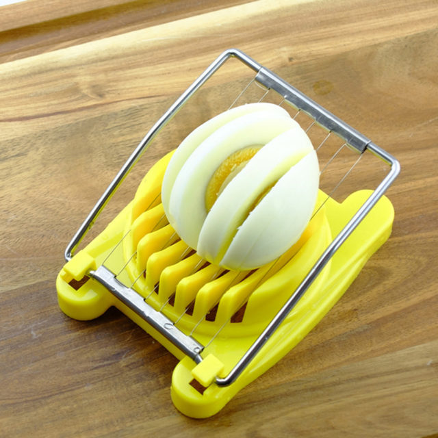 New Multifunction Kitchen Egg Slicer High Quality Sectioner Cutter Mold Flower Edges decoration Kitchen Tool Gadgets accessories