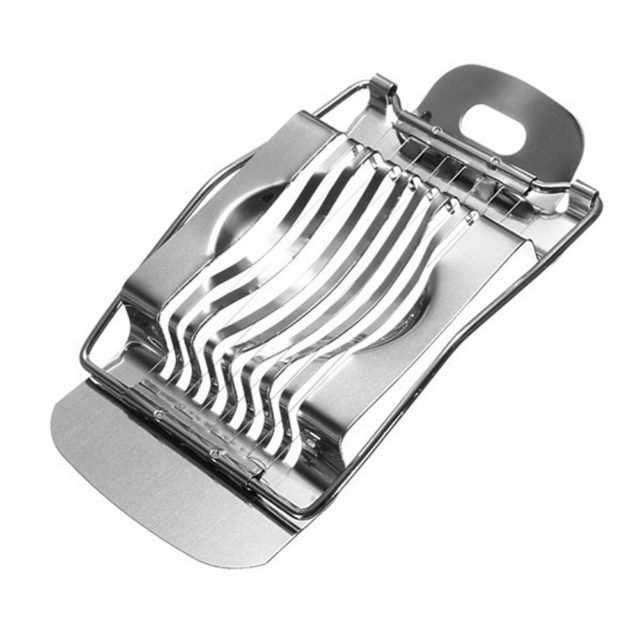 Stainless Steel Boiled Egg Slicer Section Cutter Mushroom Tomato Cutter Kitchen Skiving Machine Cooking Accessory