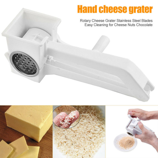 1 pcs Manual Rotary Cheese Grater multifunction cheese spreader Stainless Steel butter Chocolate Cutter tools kitchen Gadgets