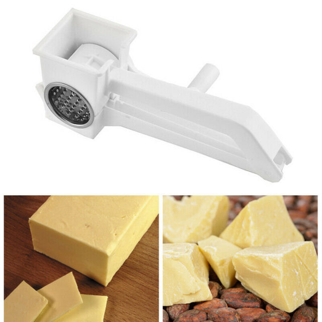 2019 New Manual Rotary Cheese Grater with Stainless Steel Drum multifunction butter Chocolate Cutter tools kitchen accessories