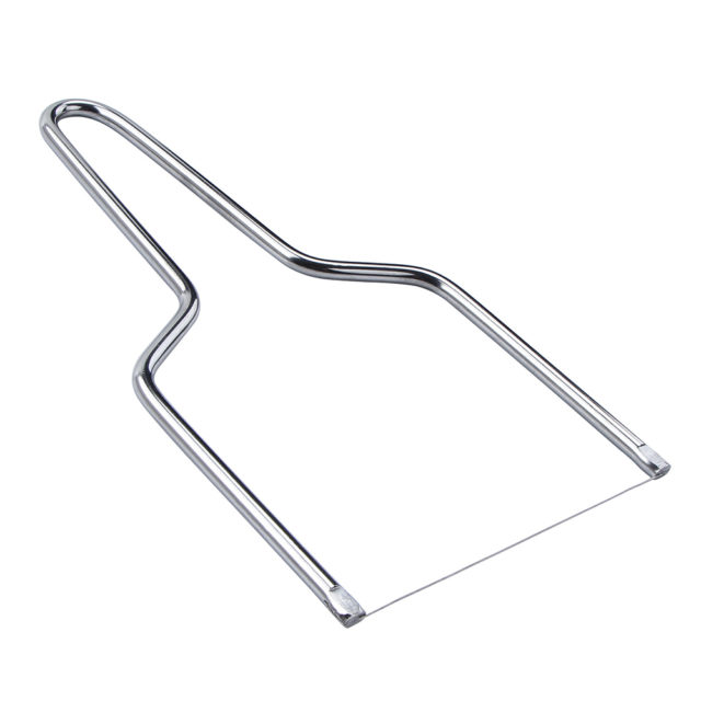 Stainless Steel Eco-Friendly Wire Cheese Slicer Cheese Tool Butter Cutting Board Butter Cutter Knife Board Kitchen Kitchen Tools