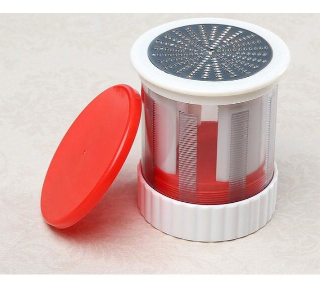 Stainless Cheese Grater Butter Mincer Mill Fruits Shredder Slicer Cheese Tools Grinder Baby Food Supplement Tool