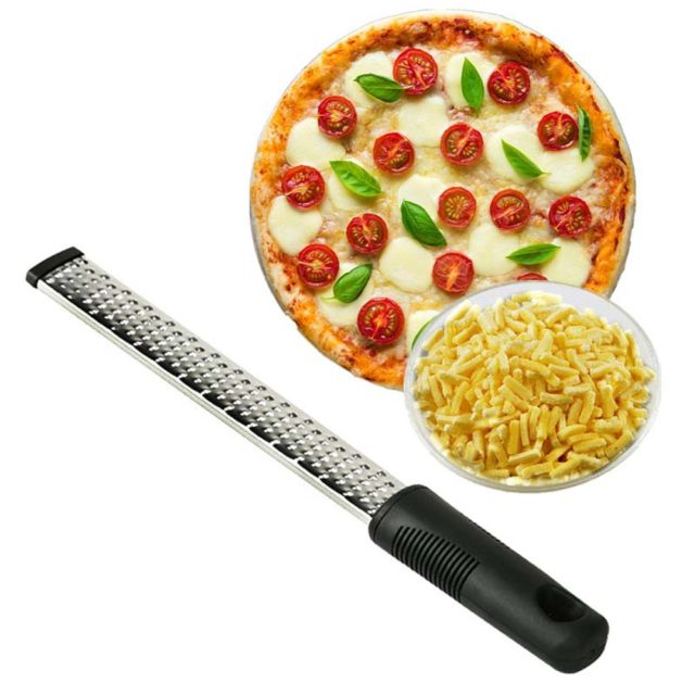 12 Inch Rectangle Stainless Steel Cheese Grater Tools Chocolate Lemon Zester Fruit Peeler Kitchen Gadgets  8 For Drop S