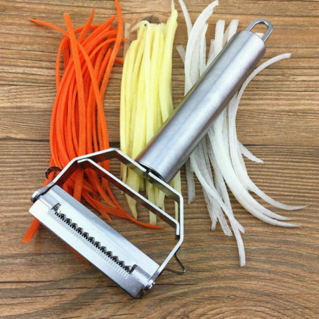 Manual Vegetable Slicer Chopper Slicer Lemon Cheese Grater Stainless Steel Potato Chips Cutter Handheld Kitchen Tool