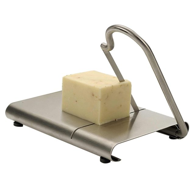 Kitchen Tools Cheese Slicer Anti-slip Wire Cutter Baking Serving Board Practical Stainless Steel DIY Fruits Hard Vegetable