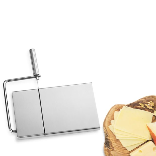 Cheese Butter Slicer Cutter Board Cutting Kitchen Hand Tool Stainless Steel Wire Cheese Slicer Cutting Cheese House Warmings
