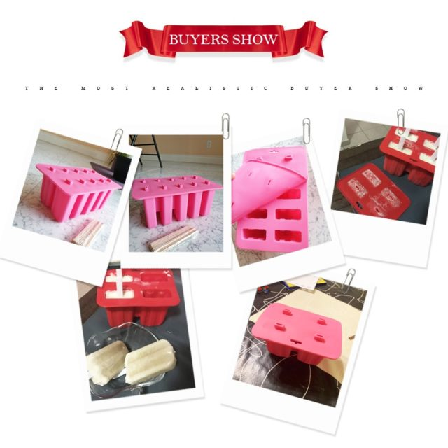 Silicone Ice Cream Tubs Eco-Friendly Popsicle Mold Household Child For Kitchen Gadgets Dining Bar Accessories Supplies