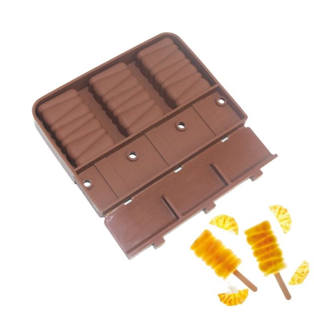 Silicone Freezer Ice Cream Makers Mold For Party Popsicle Molds Ice Cube Tray DIY Reusable Icecream Form Lolly Cake Frozen Mould