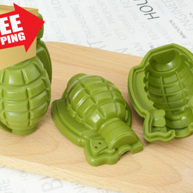 3D Reusable Kitchen Silicone Form Ice Cube Mold Tray Fruit Popsicle Ice Cream Maker for Wine Kitchen Bar Drinking Accessories