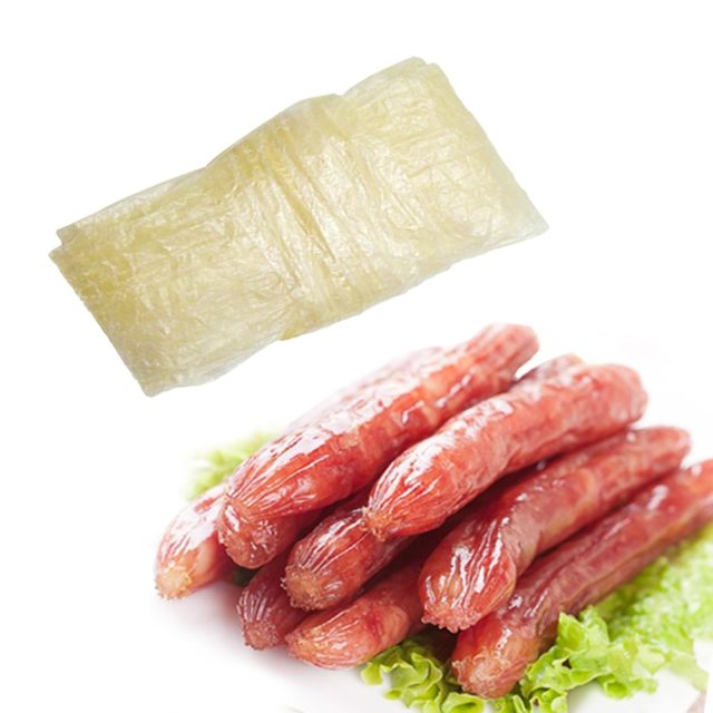 3PCs Dry Sausage Casing Large Casing 5cm*50cm Casing Hot Dog Shell for Sausages Tools Big Sausage Making ,Inedible Casings