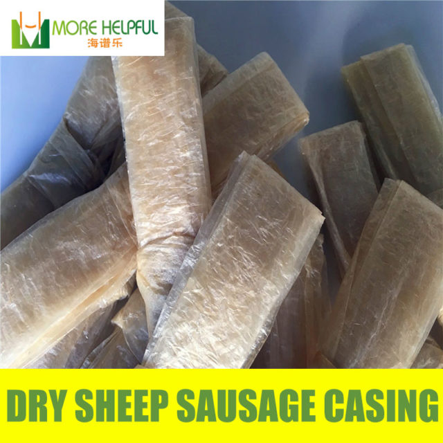 26 meter total Dry sheep casing 10pc/bag Diameter 18mm-20mm natural sheep Sausage cover,Sausage skin, free shipping