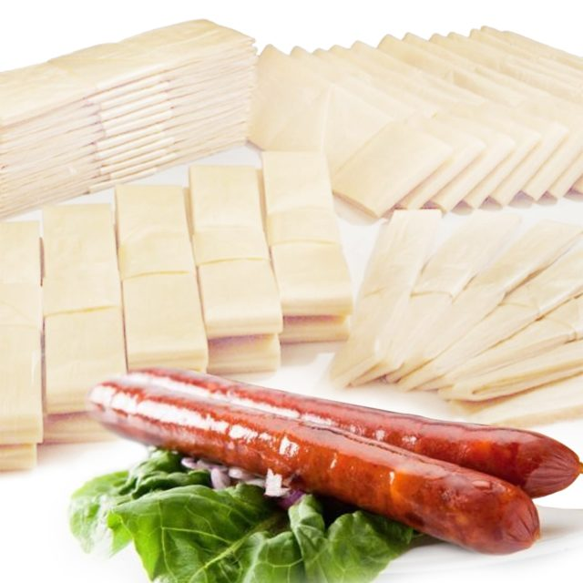 10PCs/Lot Casing for Sausage 6*50cm Dry Shell for Sausages Casing Salami Casing Filler Set Sausage Packaging Tools Inedible
