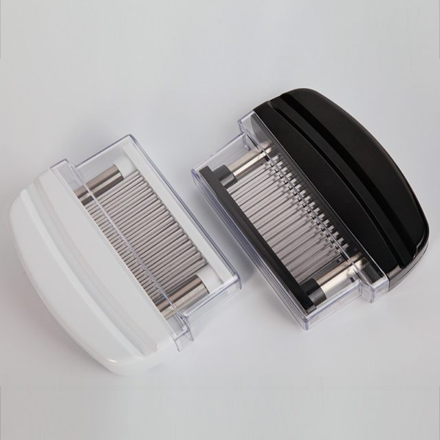 Professional Meat Tenderizer 48pcs Stainless Steel Needles Steak Meat Tender Kitchen Cooking Tools for Meat Hammer