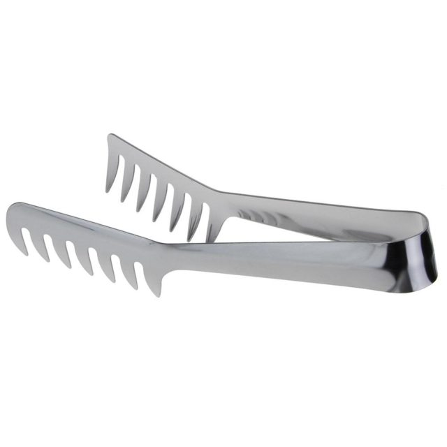 Stainless Steel Noodles Clip Food Comb Spaghetti Tongs Pasta Clip Food Holder for Cooking Pasta Restaurant Kitchen Accessories