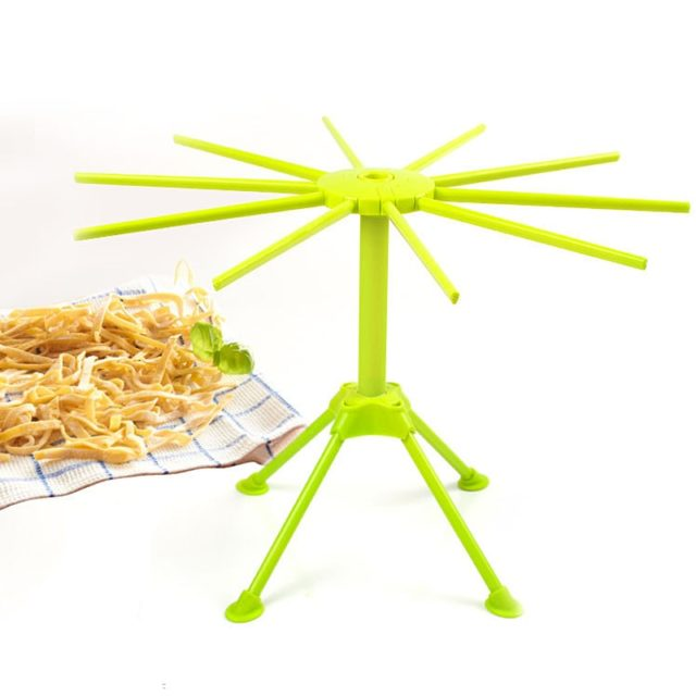 NEW Collapsible Fettuccine Noodles Drying Rack Spaghetti Pasta Hand Noodle Maker Hanging Stand Holder For Kitchenware Gadget
