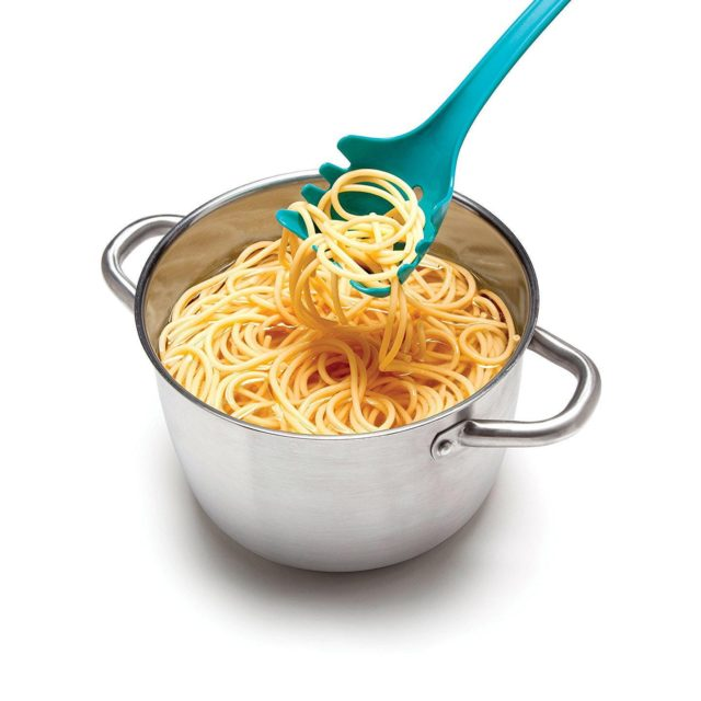 Creative spaghetti spoon cartoon shape spoon leaky spoon kitchen cooking Monster spoon noodles pasta fork Kitchen Tools