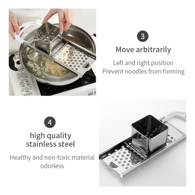 Pasta Machine Manual Noodle Spaetzle Maker Stainless Steel Blades Dumpling Maker Pasta Cooking Tools Kitchen Accessories