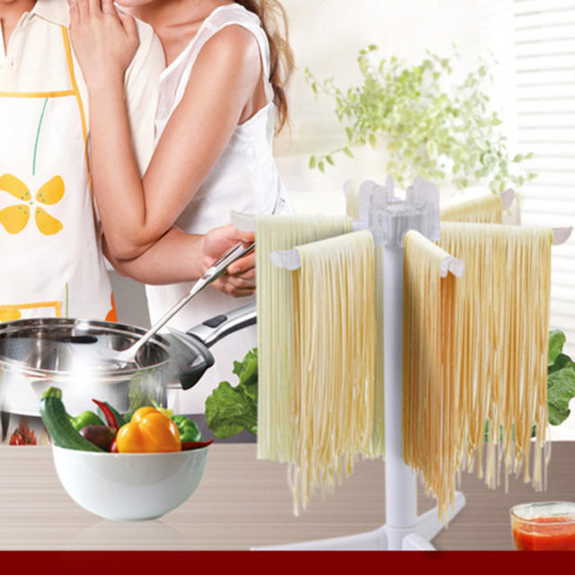 Household Noodle Support Rack Drying Rack Removable Foldable for Spaghetti Hanging Dry Rack Pasta Cooking Tool Accessories