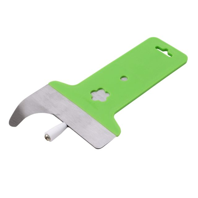 1 PCS Green Stainless Steel Noodles Dedicated Single-sharp Noodles Slitting Machine Flour Dough Slicing Knife Cutting Tool