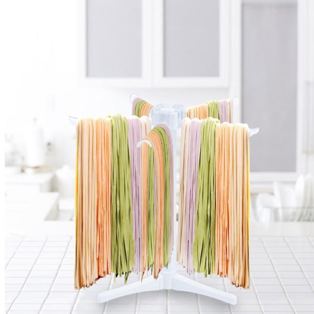 Noodles Drying Hanging Holder Plastic Portable Spaghetti Drying Stand 1 PC Kitchen Accessories Pasta Tool Pasta Drying Rack