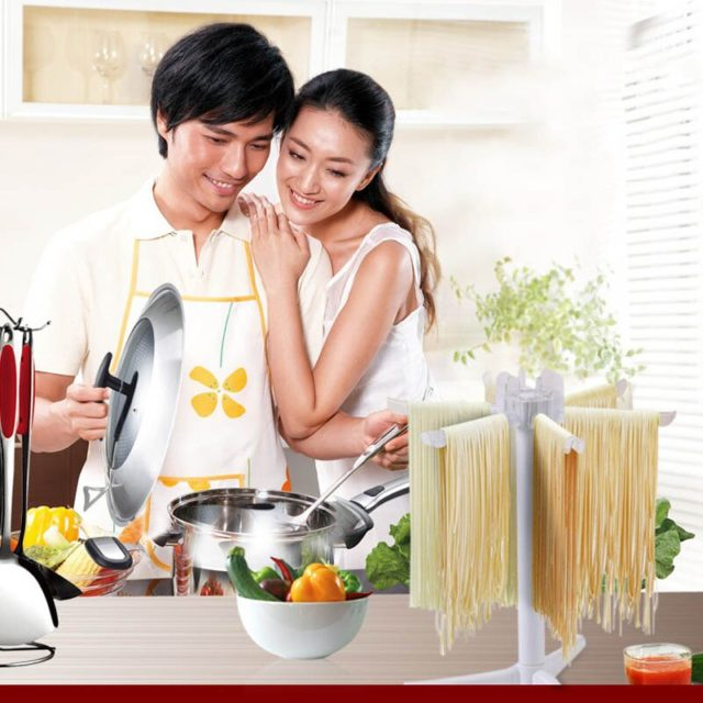 Portable Plastic Pasta Drying Rack 1 PC Noodles Drying Hanging Holder Pasta Tool Spaghetti Drying Stand Kitchen Accessories
