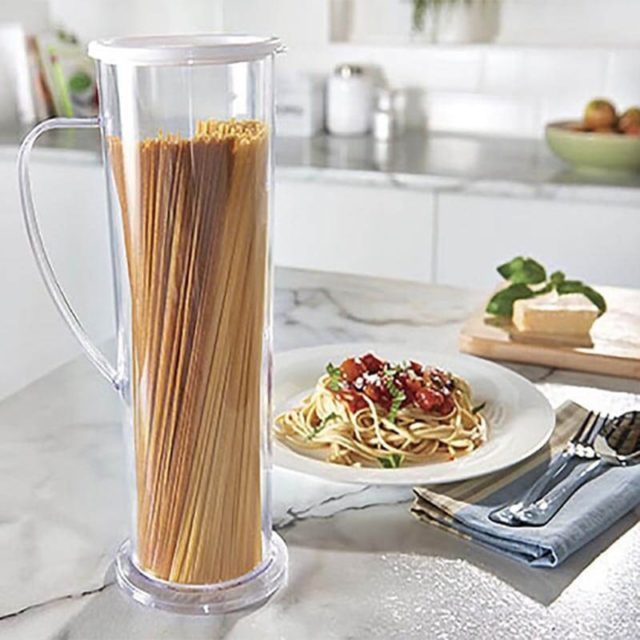 Drop Shipping New Arrival Pasta Express Cooks Spaghetti Maker Pasta Cook Tube Container Fast Easy Cook